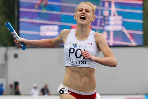 Patrycja Wyciszkiewicz at the 2013 European Athletics Junior Championships (Getty Images)