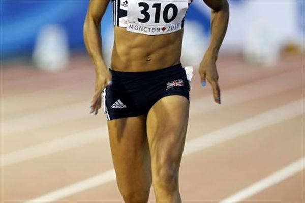 Double World Youth champion Jodie Williams makes easy work of her 100m heat (Getty Images)