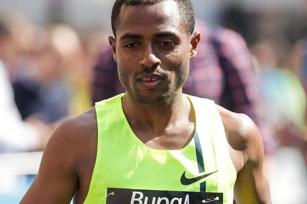 Kenenisa Bekele in the Bupa Great Manchester Run 2014 (Great Run / Dan Vernon)