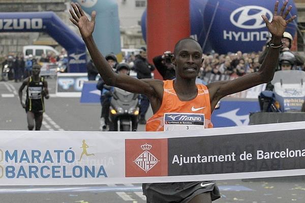 Kenyan Jackson Kotut wins 2010 Barcelona Marathon in 2:07:30 (Ibermeeting Sport SL)