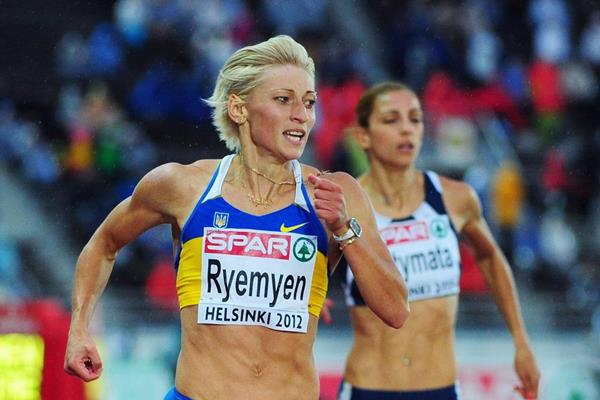 Mariya Ryemyen wins the 200m at the 2012 European Athletics Championships (Getty Images)