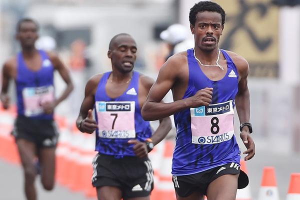 Bahraini marathon runner Shumi Dechasa (AFP / Getty Images)