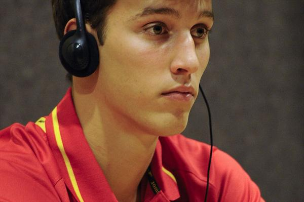 Didac Salas of Spain during the IAAF Press Conference before the start of the 14th IAAF World Junior Championships  (Getty Images)