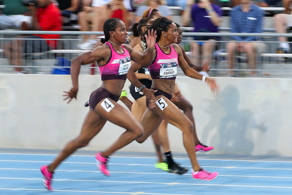 100m US trials women ()
