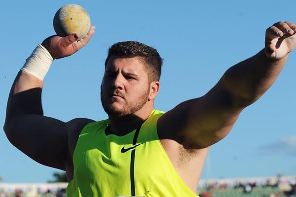US shot putter Joe Kovacs (Mark Shearman)