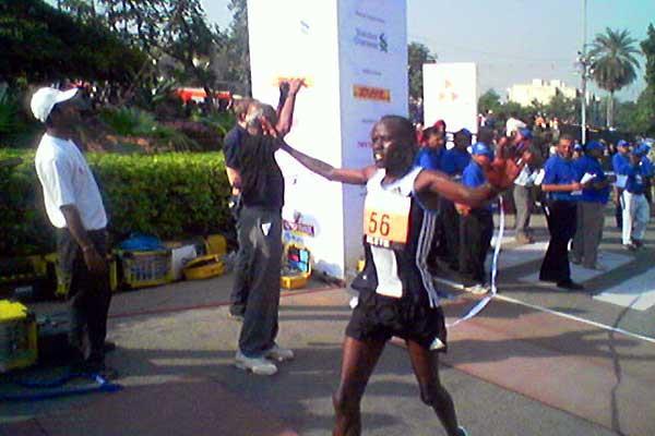 Philip Rugut wins in New Delhi (Rahul Pawar)