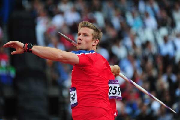 Norweigian Javelin star Andreas Thorkildsen (Getty Images)