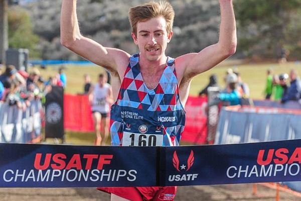 Craig Lutz wins at the 2016 USATF Cross Country Championships  (Michael Scott/USATF)
