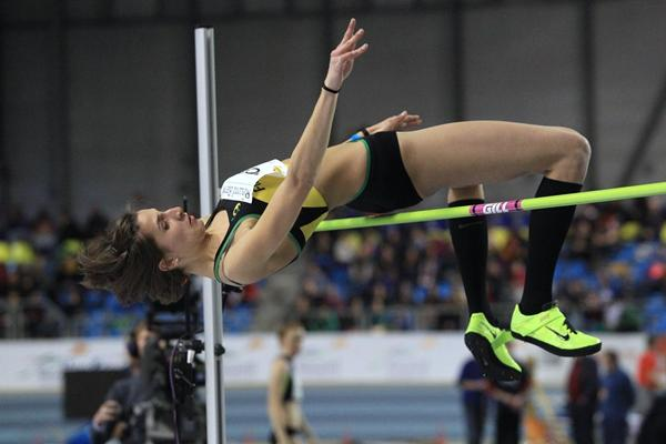 Italy's Alessia Trost at the 2013 Gent indoor meeting (Jean-Pierre Durand)