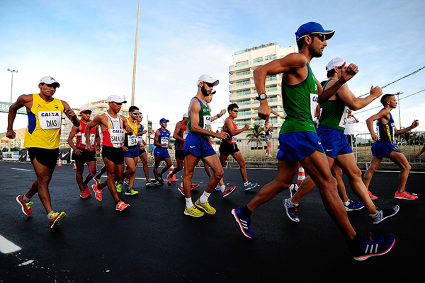 The 50km at the Brazil Race Walk Cup in Rio (Getty Images)