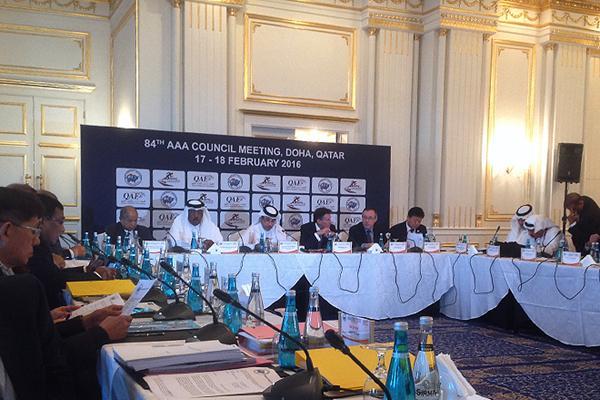 The AAA Council Meeting in Doha (IAAF)