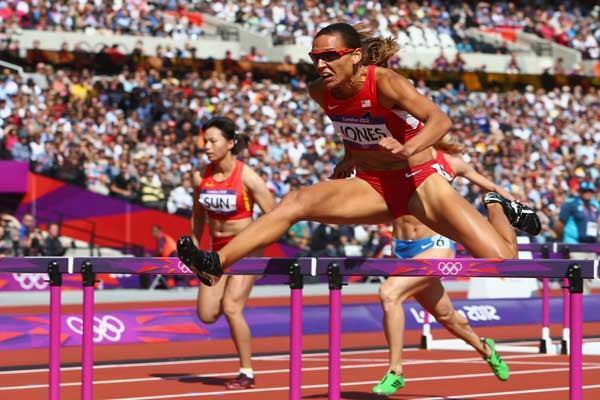 American 100 metre hurdler Lolo Jones (Getty images)