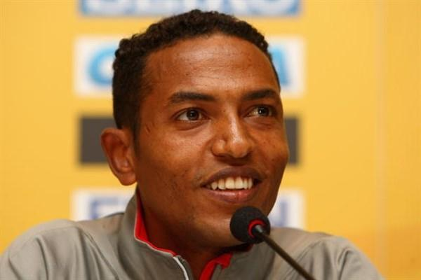 Zersenay Tadese (ERI) at IAAF Press Conference in Rio (Getty Images)