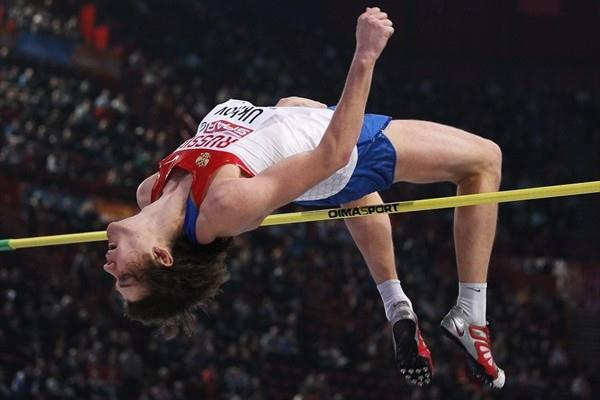 Ivan Ukhov 2.38m again, this time in Paris (Getty Images)