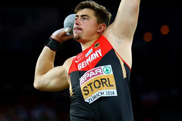 David Storl, winner of the shot at the European Championships (Getty Images)