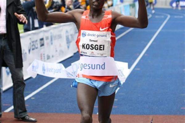 1:11:50 World record in the 25Km by Sammy Kosgei in Berlin (Victah Sailer/photorun.net)