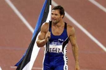 Decathlon - 2000 Olympic champion Erki Nool (© Allsport)