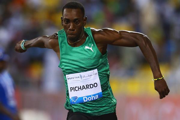 Pedro Pablo Pichardo at the 2015 IAAF Diamond League meeting in Doha  (Getty Images)