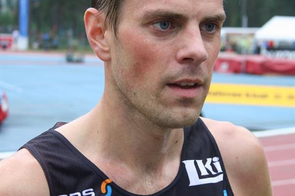 Niclas Sandells in Lappeenranta (Antti-Pekka Sonninen)