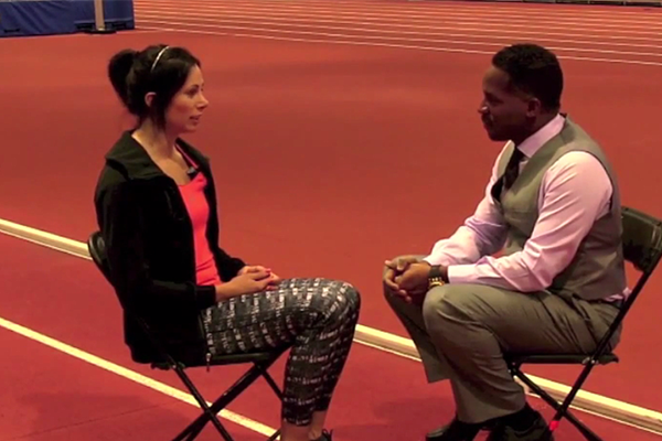Jenn Suhr on IAAF Inside Athletics (IAAF)