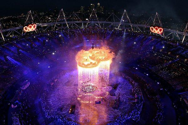 Opening Ceremony of the XXX Olympic Games in London (Getty Images)