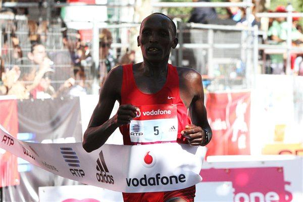 Silas Sang takes his third Half Marathon win in Lisbon (Marcelino Almeida)