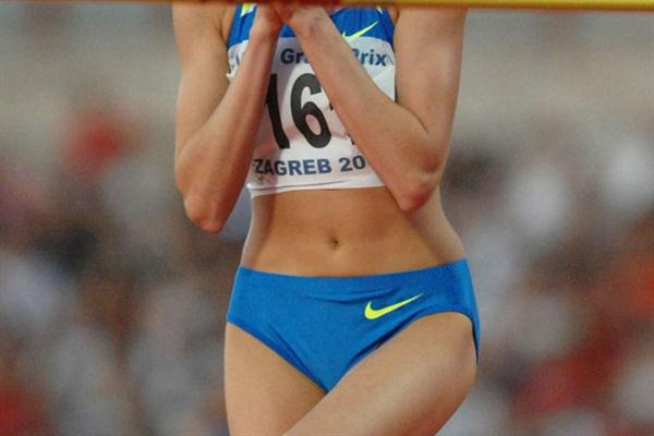 Anna Chicherova improves to 2.04 in Zagreb (Zagreb organisers)