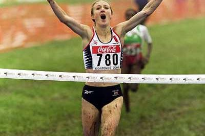 Paula Radcliffe (GBR) - 2001 World XC (Getty Images)