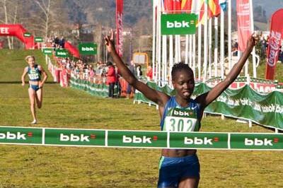 Comfortable win for Vivian Cheruiyot in Amorebieta (Unai Sansuátegui)