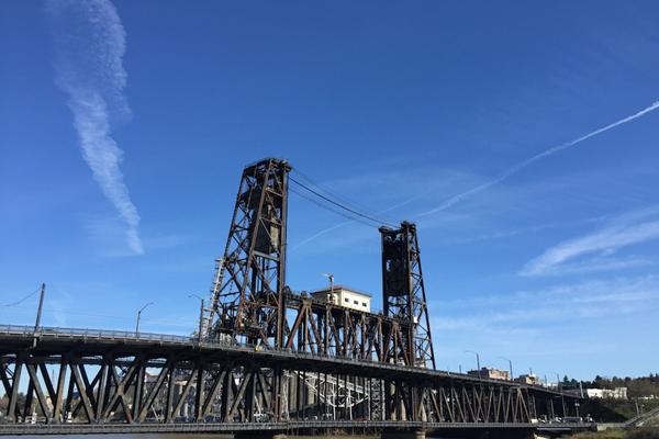 Steel Bridge Portland ()