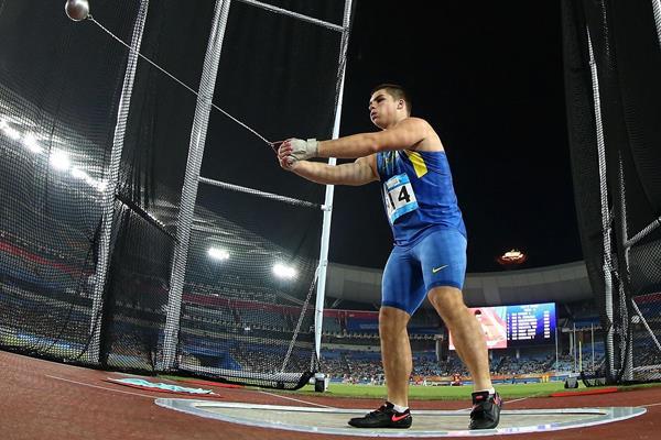 Hlib Piskunov at the 2014 Youth Olympic Games (YOG LOC)