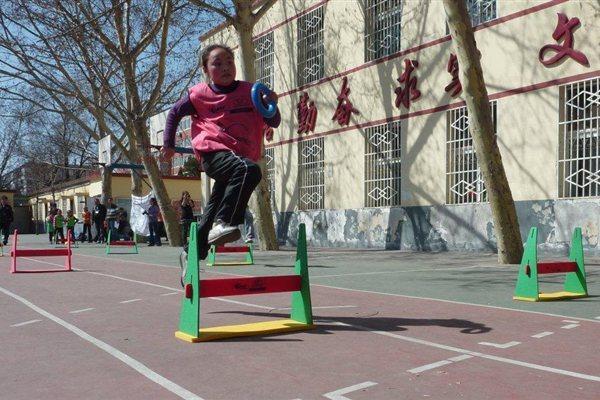 Kids' Athletics competition in Beijing (IAAF)