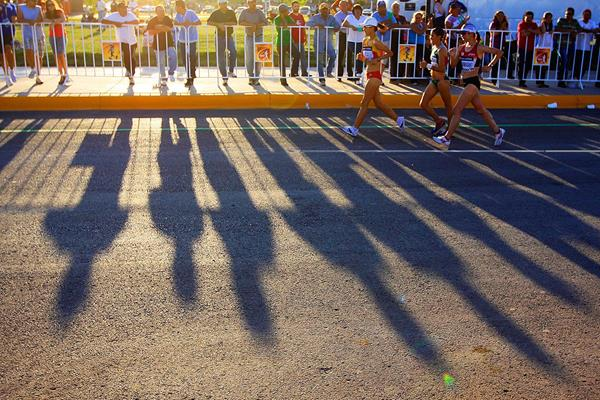 The women's 20km at the IAAF World Race Walking Cup (Getty Images)