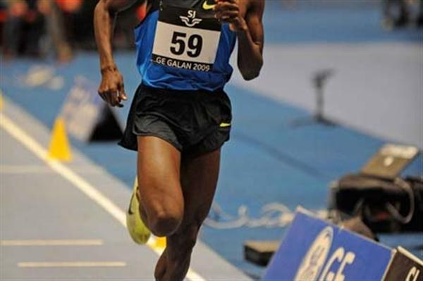 Paul Kipsiele Koech running in the 2009 GE Galan (Hasse Sjogren)