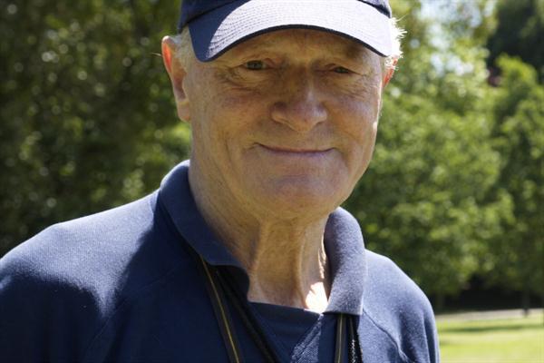 UK coaching legend Frank Horwill (Peter Thompson)