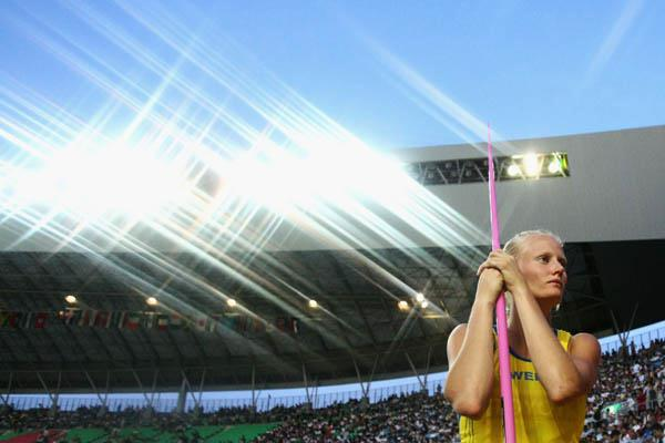 A portrait of Carolina Kluft in Osaka (Getty Images)