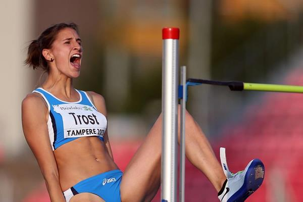 Alessia Trost at the 2013 European Athletics U23 Championships (Getty Images)