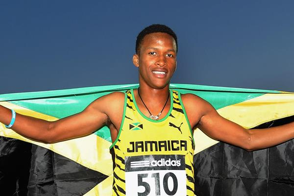 Jamaican hurdler Jaheel Hyde (Getty Images)
