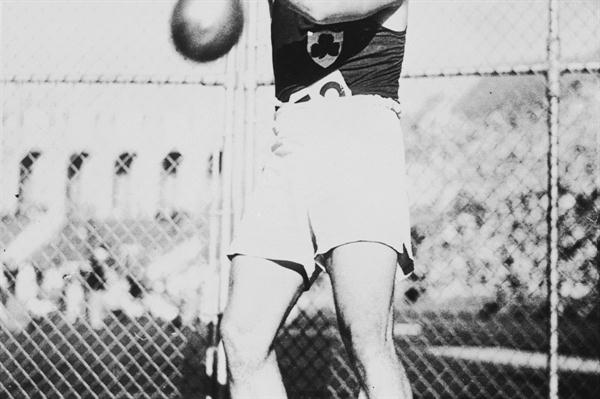 Two-time Olympic Hammer Throw champion, Pat O'Callaghan of Ireland (Getty Images)