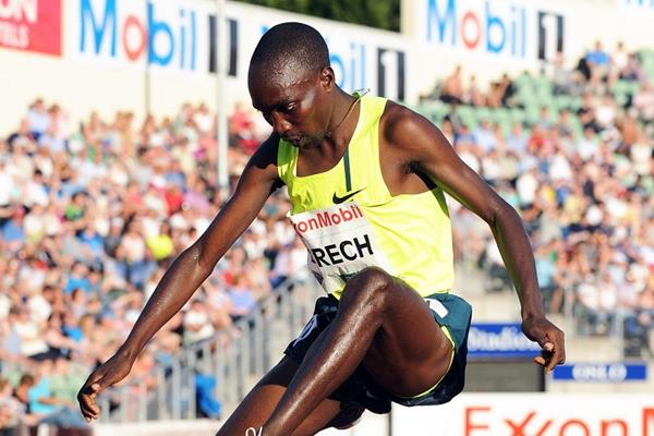 Jairus Birech at the 2014 IAAF Diamond League meeting in Oslo (Mark Shearman)