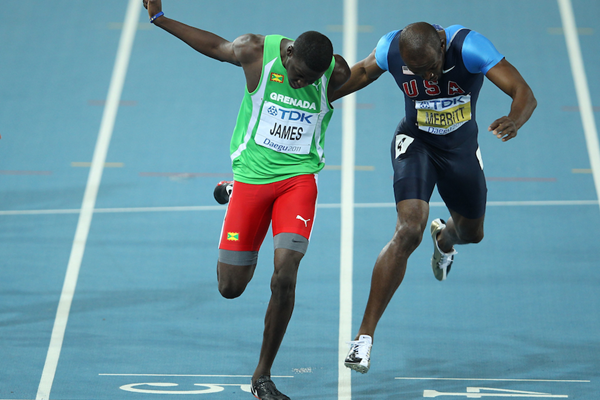 Kirani James LaShawn Merritt ()