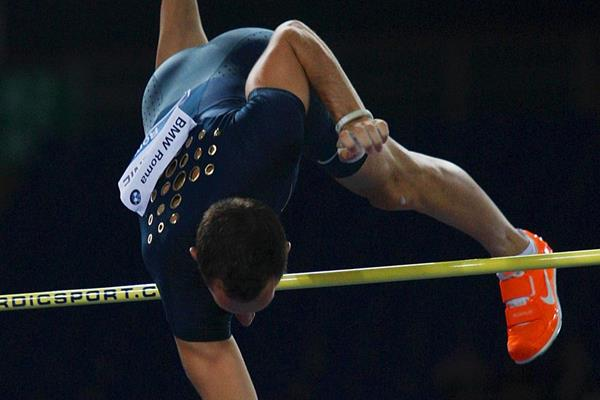 Renaud Lavillenie in action in the pole vault (Getty Images)