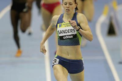 Another 50.60 world leader for Sanders (Getty Images)