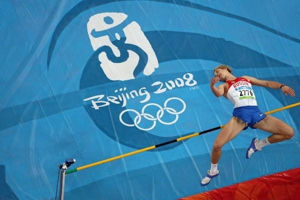 Andrey Silnov jumps his way into the men's Olympic high jump final (Getty Images)