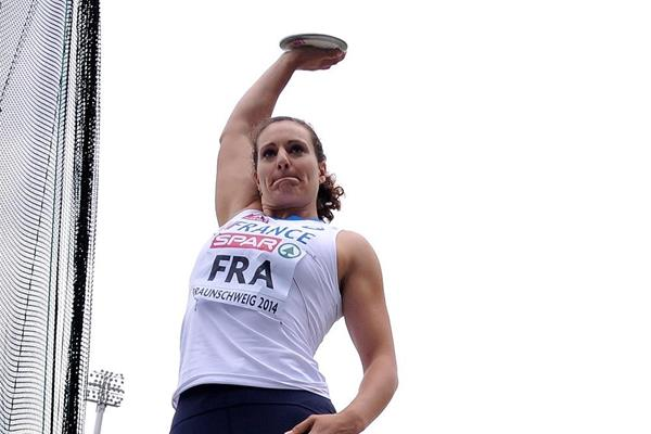 Melina Rober-Michon at the 2014 European Athletics Team Championships (Getty Images)