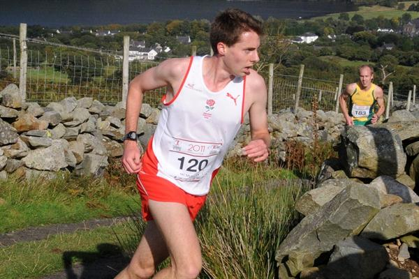 Commonwealth Mountain Race champion James McMullen in Wales (CMUDC2011)