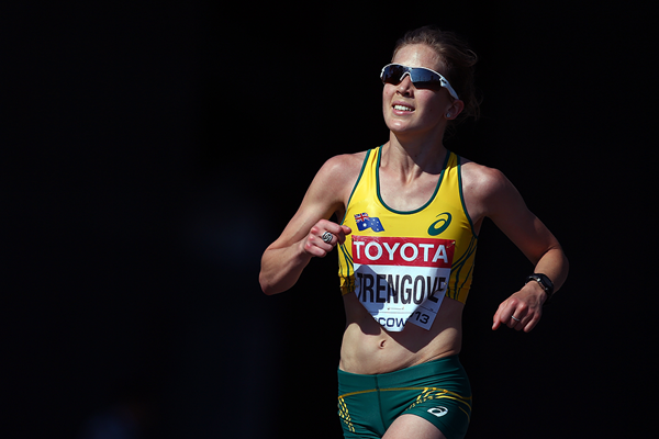 Australia's Jessica Trengove in the marathon (Getty Images)