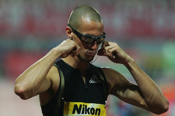 Jeremy Wariner in Shanghai (Getty Images)