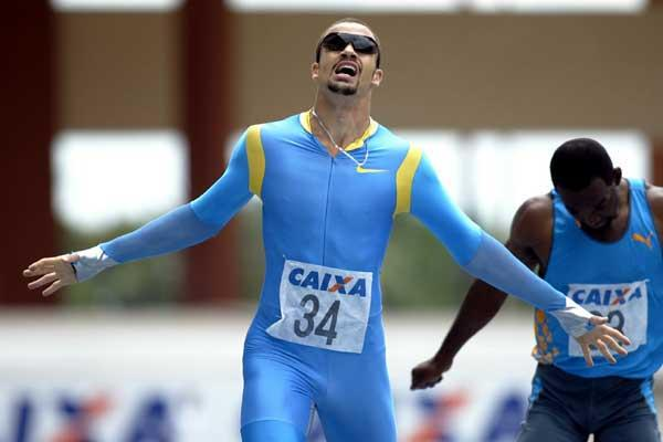 Tyler Christopher sets a Canadian national 400m record of 44.72 in Belem (roberto wander)