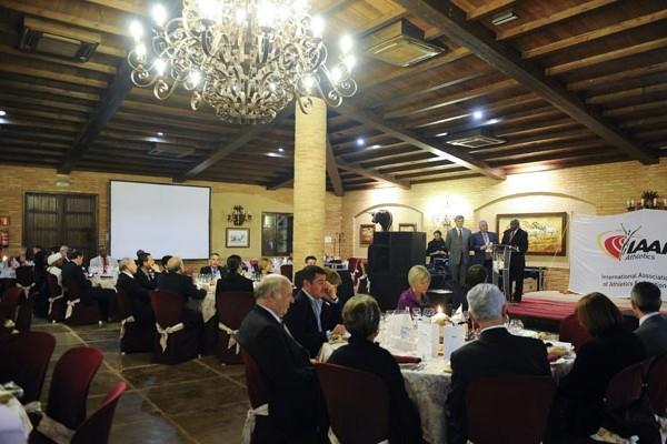 IAAF Dinner, Punta Umbria (IAAF.org)
